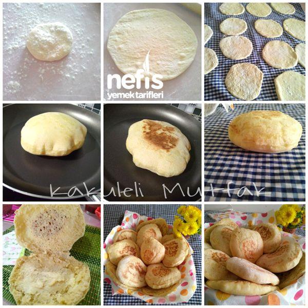 Tavada Mini Ekmek (pita Ekmeği) 1