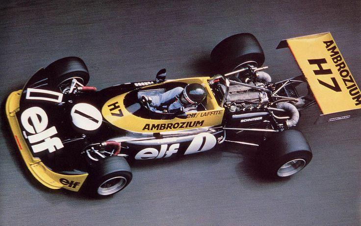 Jacques Laffite in a 1975 Formula 2 Martini MK 16