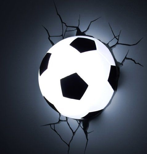 Football 3D Deco Light/Nightlight: Amazon.co.uk: Sports & Outdoors