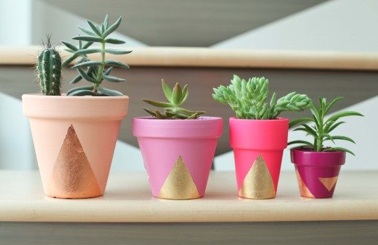 Painted Pots, so cute!