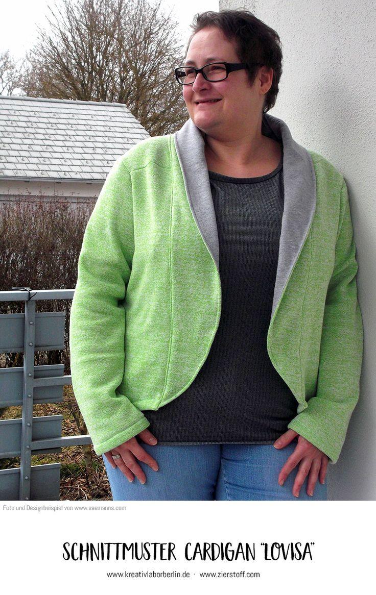 """Cardigan """"Lovisa"""" genäht von www.saemanns.com"""
