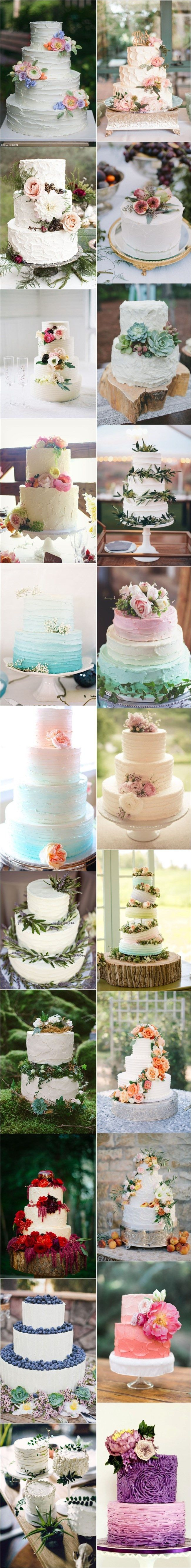 25 Buttercream Wedding Cakes We'd (Almost) Kill For (with Tutorial) http://greatislamicquotes.com/