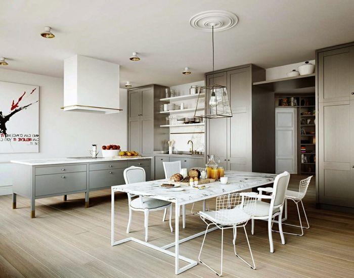 Die besten 25+ Hellgraue küchen Ideen auf Pinterest Graue - richtigen kuchengerate interieur auswahlen