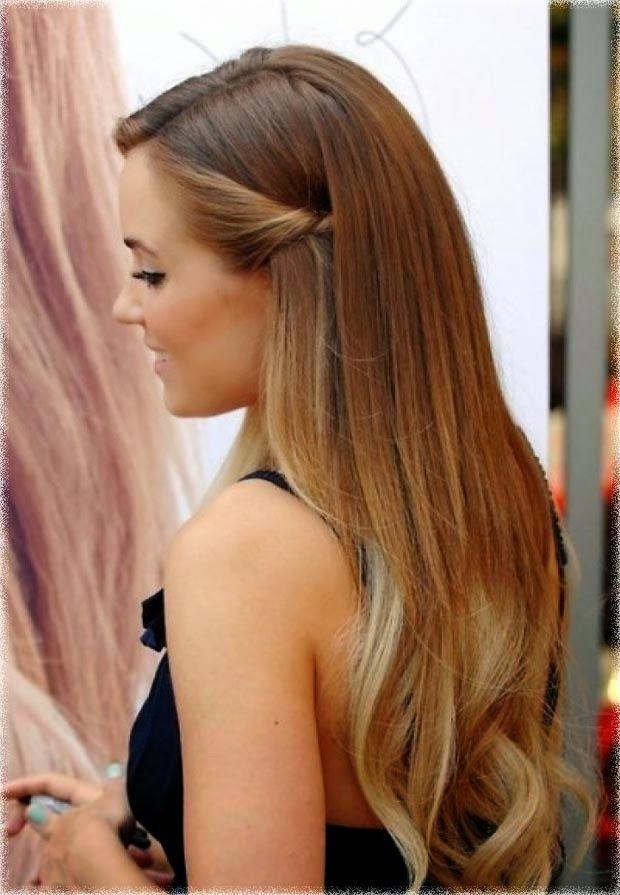 Half Up Half Down Hairstyles Lauren Conrad