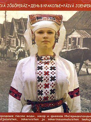 FolkCostume и вышивки: костюмы и вышивка Ингрии, часть 2