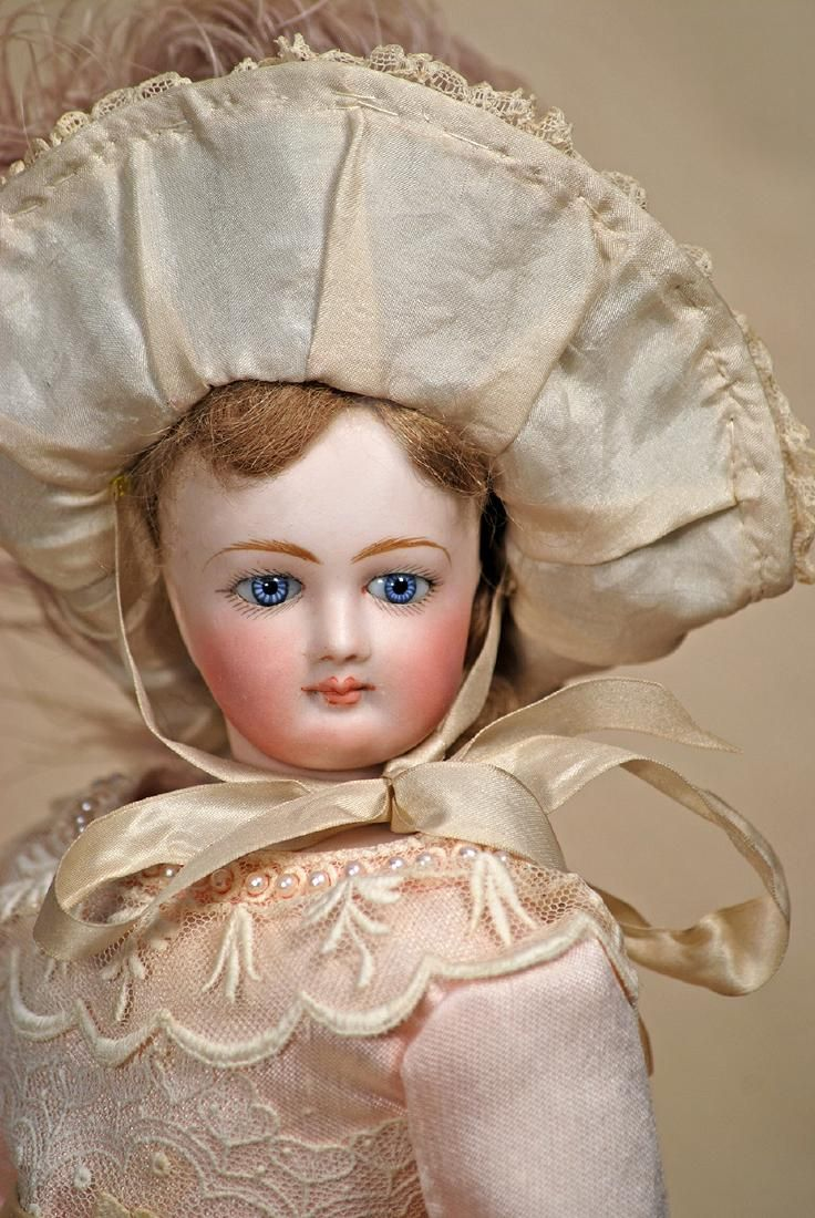 Lovely French Bisque Poupee By Jumeau Marks None Lot