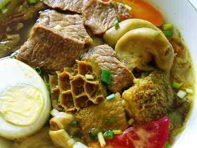 Resep Soto Babat - Disini ada cara membuat video resep soto babat daging sapi kuah santan bening asli sajian sedap bali lamongan betawi jawa timur paling enak serta spesial.