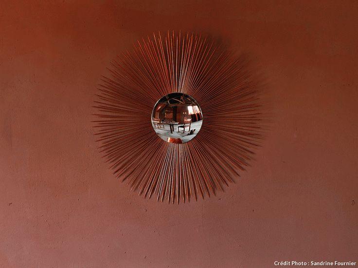Les 103 meilleures images du tableau miroir mirror sur for Miroir soleil cuivre