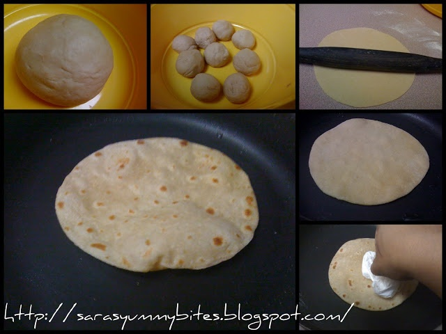 Chapati. Take a little Uganda home with me.