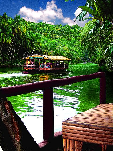 Bohol Jungle River Cruise, Philippines To book go to www.notjusttravel.com/anglia