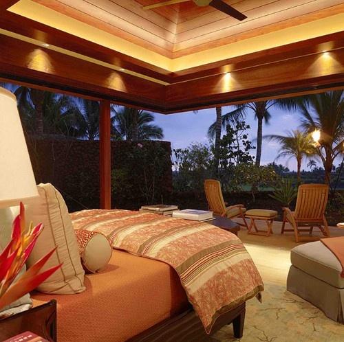 Bedroom in Hawaii Residence. Beautiful!: Hawaii Residence, Guest Bedrooms, Tropical Bedrooms, Dream, Design Ideas, Air Bedroom, Beach Bedroom, Decorating Teen Bedrooms, Bedroom Designs