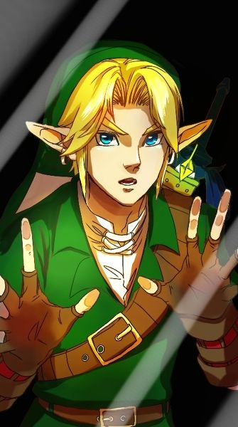 Not anime but still a lock screen; Link Legend of Zelda lock screen