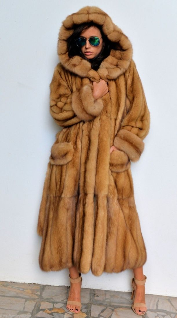 47 best Fur Sable Gold images on Pinterest | Fur fashion, Furs and Fur