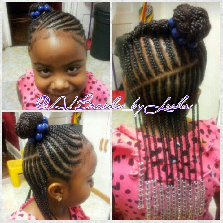 Short Hair Braid Styles For Kids