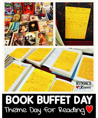 Runde's Room: Theme Day - Book Buffet