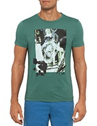 Boss Orange Tavy2 Club Boy Printed Tee #davidjones #bluesandgreens #newarrivals #autumnwinter2013