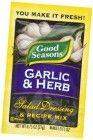 Good Seasons Salad Dressing & Recipe Mix, Garlic & Herb, 0.75-Ounce Packets (Pack of 24)