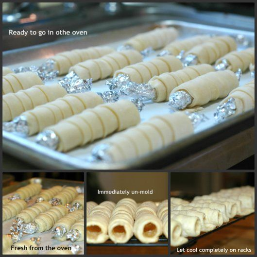 Ladylocks recipe ...ladylocks are flaky pastry tubes covered in powdered sugar and filled with a creamy buttery icing. Yummy, sound like creme horns!