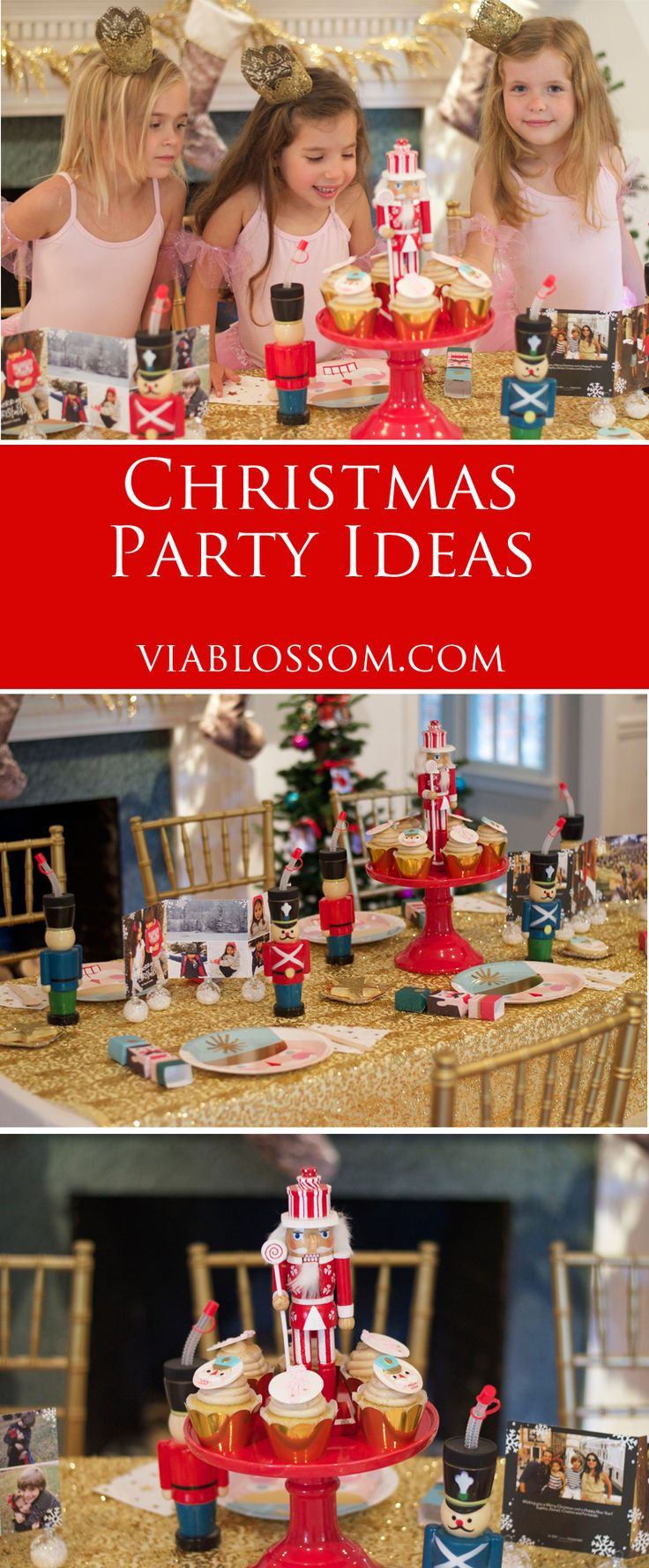 Lovely Christmas Party Ideas For Girls Part - 11: A Nutcracker Ballet Party