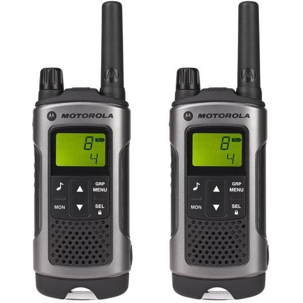 Motorola TLKR T80 Com-radio, 8 kanaler +121subtoner, 0pp til 10km, 500mW, 12,5Khz | Satelittservice tilbyr bla. HDTV, DVD, hjemmekino, parabol, data, satelittutstyr