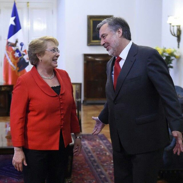 Michelle Bachelet y Alejandro Guillier #Chile #Política