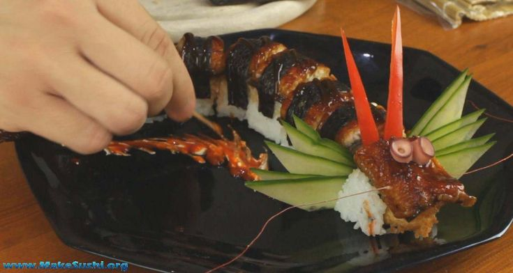 How to make dragon sushi rolls - Learn how to create stunning sushi dishes with the guidance of self-taught sushi chef, Davy Devaux.