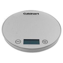 Cuisinart DigiPad Digital Kitchen Scale, Silver
