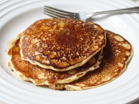 The Best Pancakes - Old Fashioned Pancakes Recipe - I used this recipe this morning and the pancakes are light and fluffy!  Don't make the heat too high on the pan or they'll burn quick! ~ TateTwo