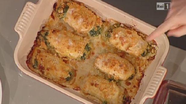 Ricette+Natalia+Cattellani,+fagottini+di+pollo+in+crosta+croccante