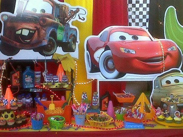 Castillos Eventos... de Ursula Newman: Decoración Fiesta Cars