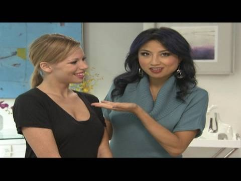 Don't have time to go home and get dolled up for a hot date after work? Jeannie Mai shows how to take your makeup from day to night.
