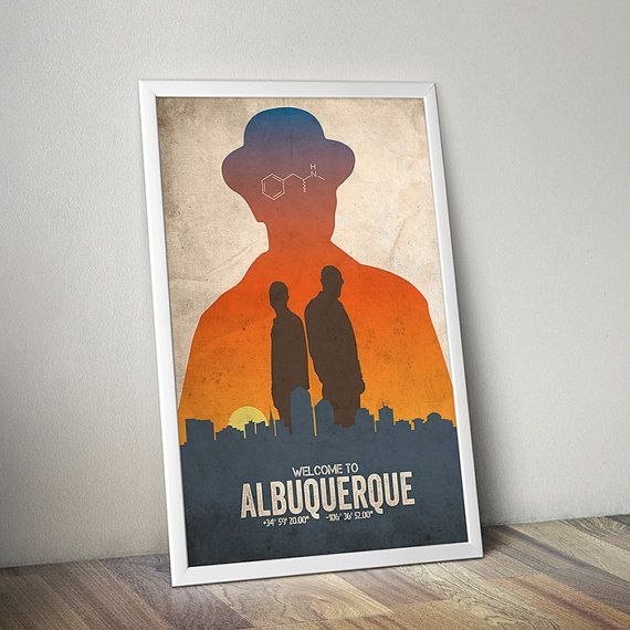 Albuquerque Breaking Bad poster alternative by TheCelluloidAndroid