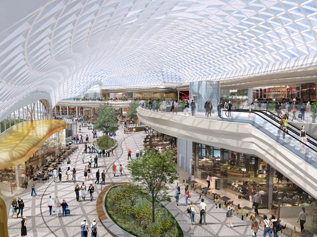 Sheffield Meadowhall Shopping Centre Building - e-architect