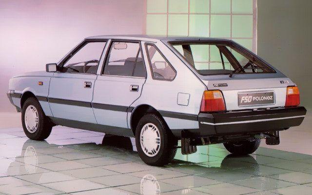 FSO Polonez MR'89 - przejściowa wersja Poloneza