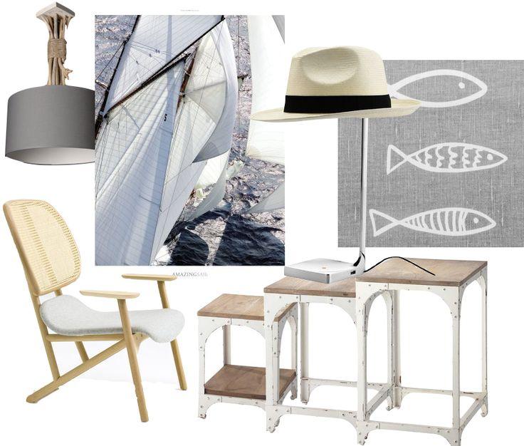 Inspiration la d co bord de mer deco and salons - Salon style bord de mer ...