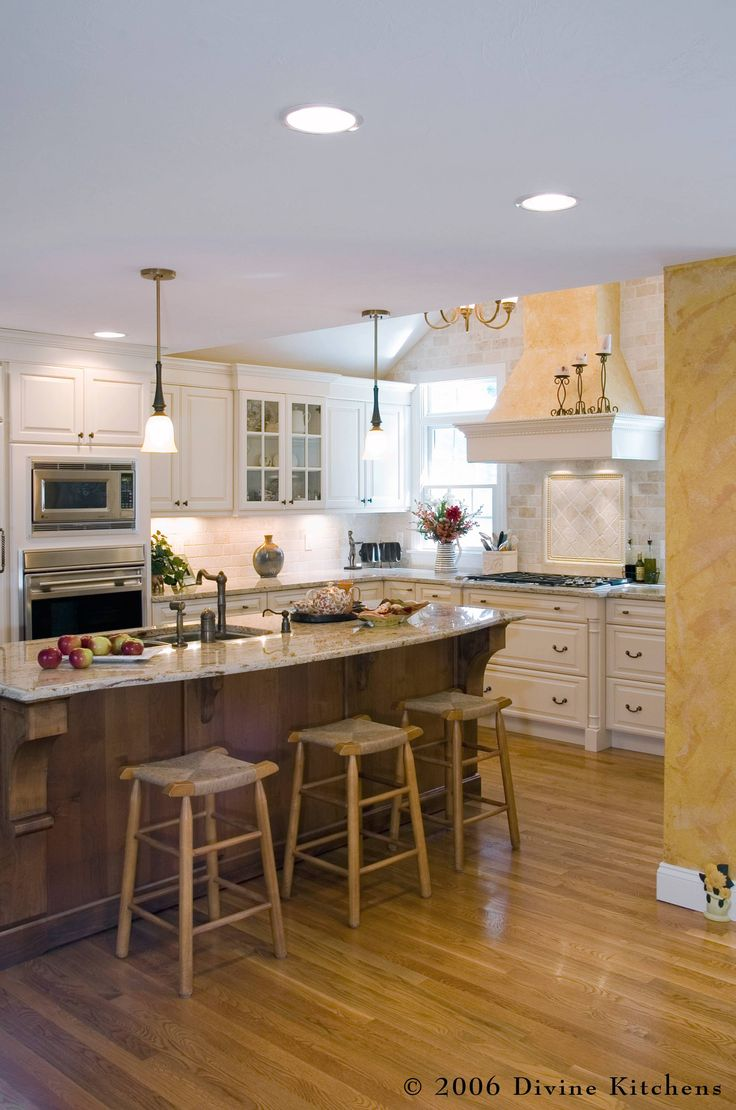 20 best santa cecilia images on pinterest kitchen for Kitchen designs with cathedral ceilings