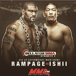 """LIVE ON TV UFC champion Quinton """"Rampage"""" Jackson returns after a one year layoff to face Satoshi Ishii at Bellator Dynamite 2 Ful fight streaming 'Rampage' Jackson to fight Satoshi Ishii Head To Head on live online scheduled for June 24th in St. Louis..."""