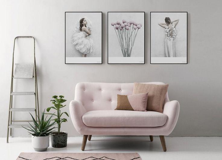 ViSSEVASSE - helt ny plakat fra Vissevasse - inspiration til boligindretning - boliginspiration - bolig drømme - drømmebolig - boligidéer - idéer til indretning - indretning af stue - sofa - lyserød -  soveværelse - plakater - posters