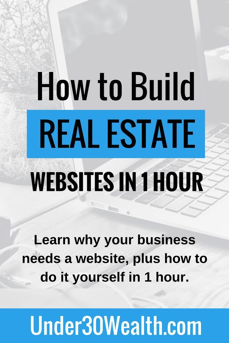 360 best commercial real estate investing images on pinterest real how to create a website in under an hour solutioingenieria Images