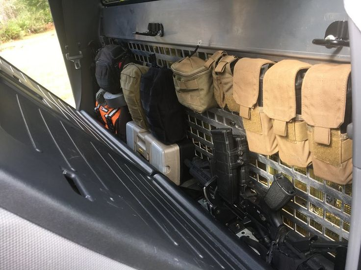 MOLLE panel 3rd group buy for 2nd/3rd gen rear seat ...