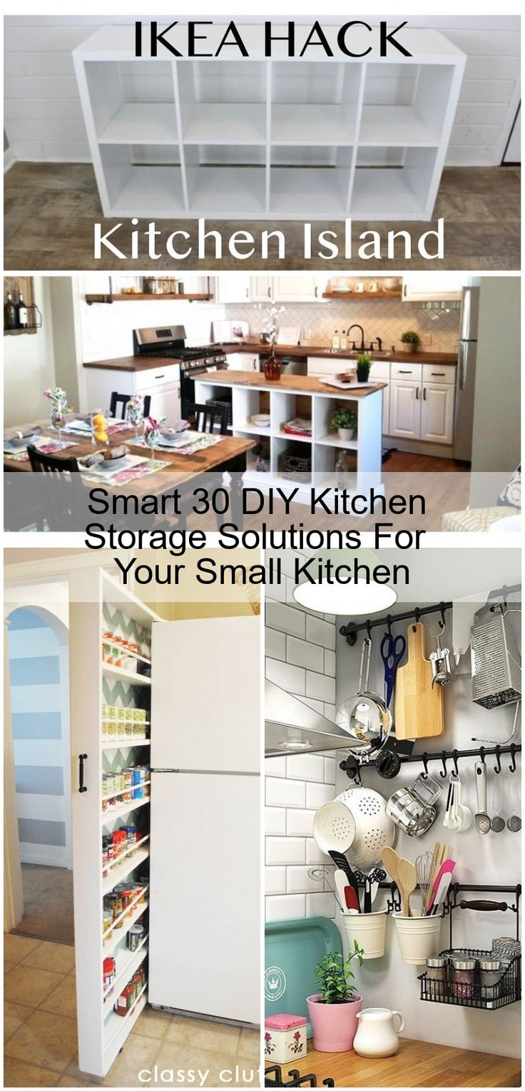 Smart 30 DIY Kitchen Storage Solutions For Your Small ...
