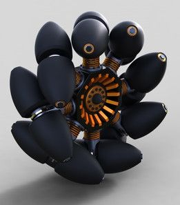 Mecanum Wheel Type-B Revision-A1