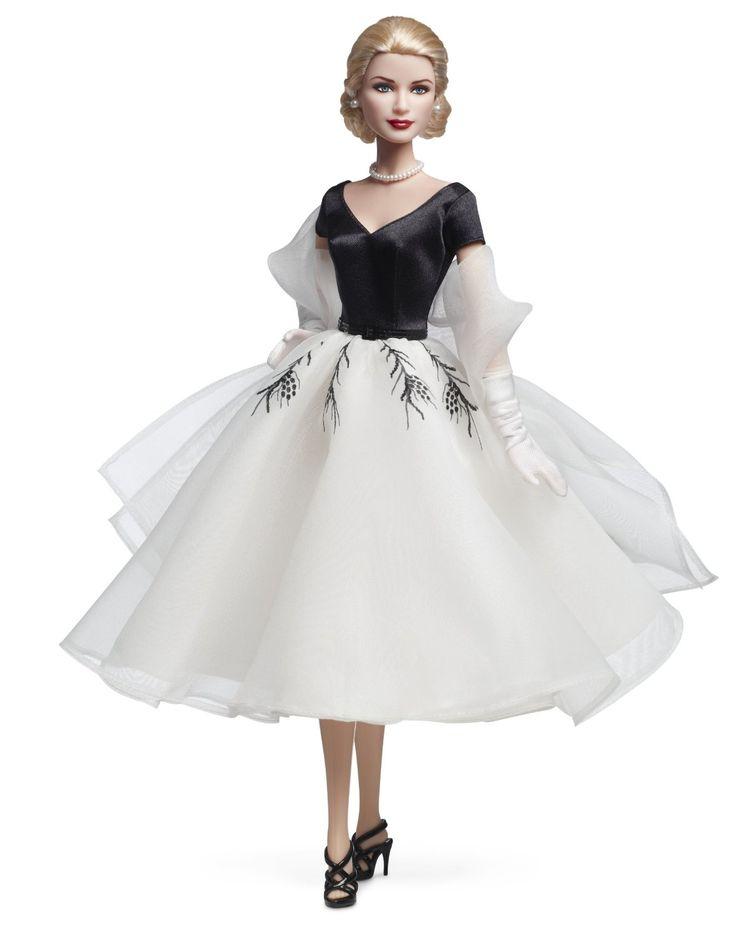 Barbie V7554 - Muñeca de coleccionista de Grace Kelly en La ventana indiscreta: Amazon.es: Juguetes y juegos