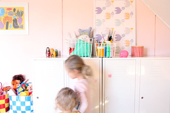 Pinjacolada: Organizing the kids room / Koreja lastenhuoneeseen