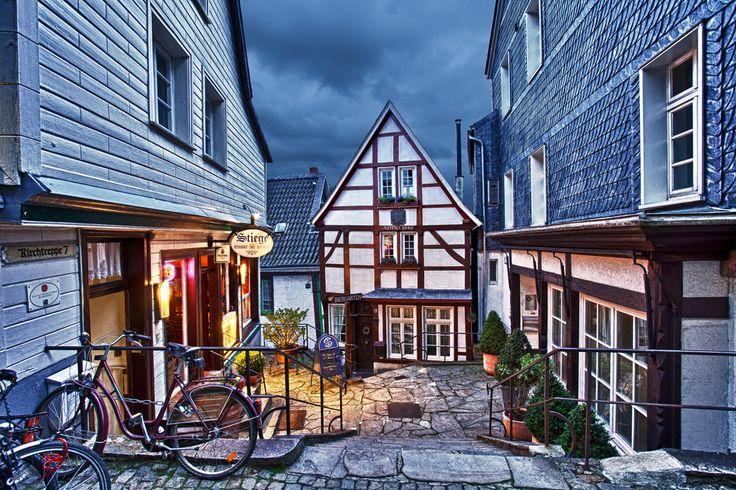 Die Kirchtreppe (Essen Kettwig) |  Essen, Germany