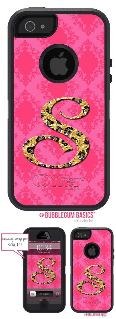 DAMASK Glitter Cheetah Pink Animal Print Name Initials #Personalized #Monogram #OTTERBOX Defender iPhone 5 5S 5C 4/4S iPod Touch 5G #Case by iselltshirts (https://www.etsy.com/listing/128753718/otterbox-defender-iphone-5-5s-5c-44s?ref=shop_home_active_1)
