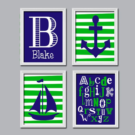 Nautical Nursery Wall Decor 103 best | nautical nursery | images on pinterest | nautical