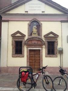 Alessandría Virgen Monserrat Etapa2 Camino Español #bici #cicloturismo #italia #alessandria #monserrat
