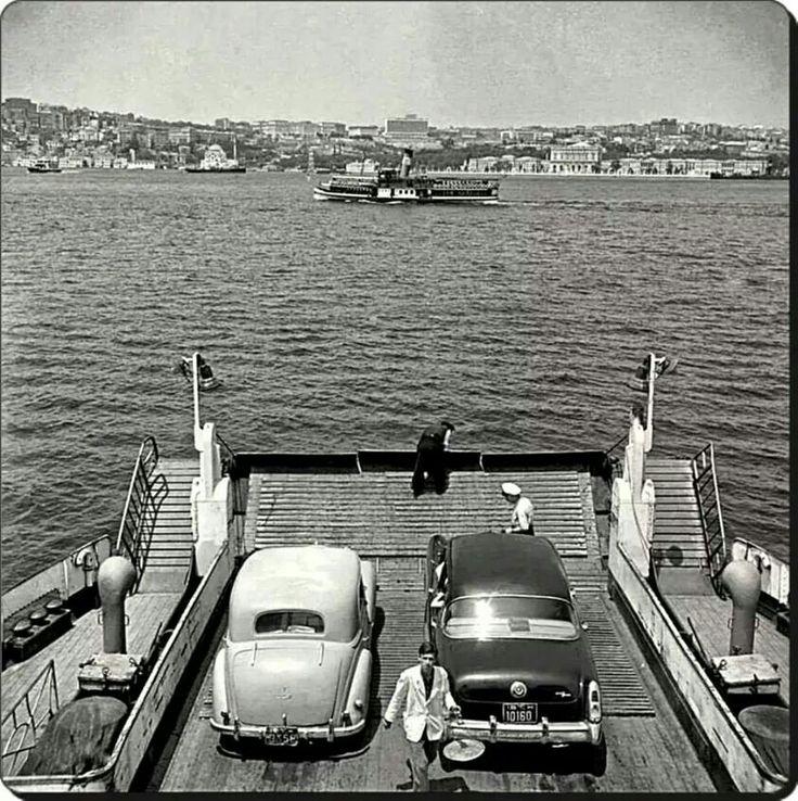 Araba vapurundan Bogazici 1964