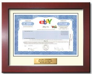 Buy Ebay stock Gift in 2 Minutes | #1 in Single Shares of Stock
